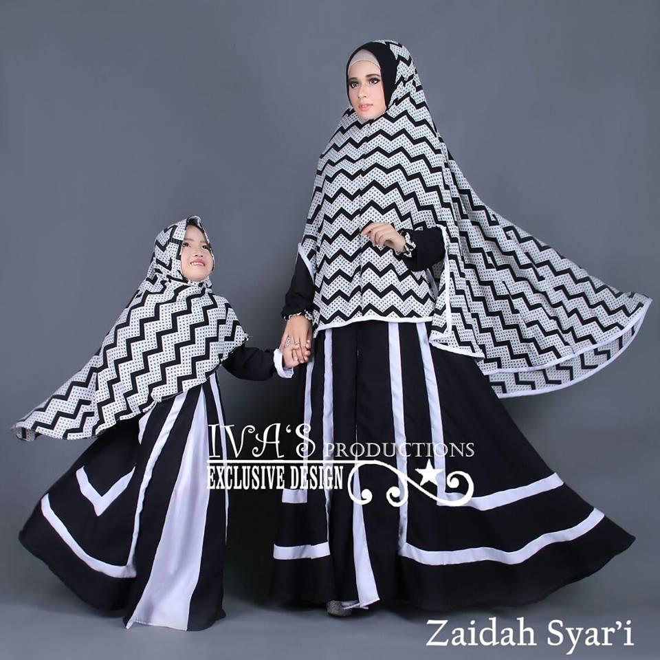 photo regarding I Mom referred to as Zaidah Syari Mother Kidz via Iva Jual busana muslim