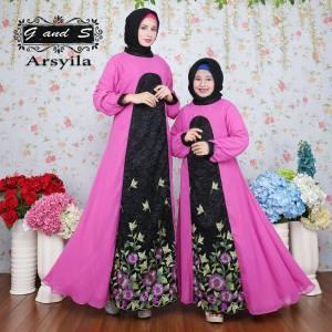 ARSYILA Couple ungu by GS
